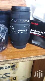 New Camera Zoom Lens Sigma 70-300mm | Cameras, Video Cameras & Accessories for sale in Nairobi, Nairobi Central