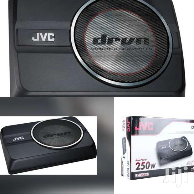 JVC CW-DRA8 ACTIVE UNDERSEAT SUBWOOFER