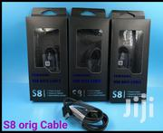 Samsung Black Type-c USB Data Cable Charger For Galaxy S8 S8 Plus + | Accessories for Mobile Phones & Tablets for sale in Nairobi, Nairobi Central