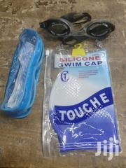 Swimming Cap And Googles | Sports Equipment for sale in Nairobi, Nairobi Central