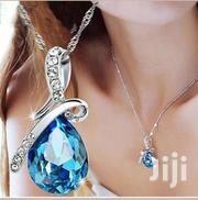 Women's Fashion Silver Chain Crystal Rhinestone Pendant Necklace | Jewelry for sale in Nairobi, Nairobi Central