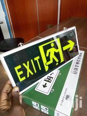 Self Luminous Fire Safety Exit Signs | Safety Equipment for sale in Nairobi, Nairobi Central