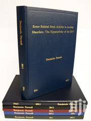 Hardcover Binding Well Done | Other Services for sale in Nairobi, Nairobi Central