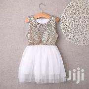 Gold Dress | Children's Clothing for sale in Mombasa, Shimanzi/Ganjoni