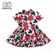 Red Flowers Dress | Children's Clothing for sale in Mombasa, Shimanzi/Ganjoni