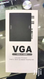VGA To Hdmi Converter With Power Adapter Audio   Computer Accessories  for sale in Nairobi, Nairobi Central