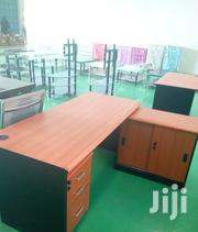 Moderate Office Desk With Side Cabinets | Furniture for sale in Nairobi, Harambee