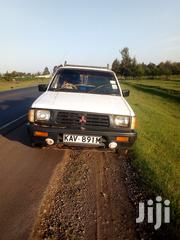 Mitsubishi L200 2005 White | Cars for sale in Nakuru, Mosop