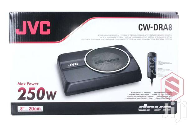 """JVC CW-DRA8 8 ALL IN ONE POWERED SUBWOOFER 250W PEAK"""""""