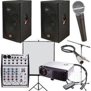 PA System, Projector And Tripod Screen Combo For Hire | Audio & Music Equipment for sale in Nairobi, Nairobi Central
