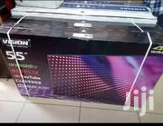 Vision Plus 55 Inches 4K Android Slim LED TV Dolby Sound Black | TV & DVD Equipment for sale in Mombasa, Jomvu Kuu