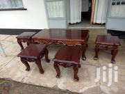 Coffee Table With Four Stools | Furniture for sale in Nairobi, Ngara