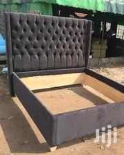 Leather Tufted Wooden Beds Sizes 4*6-6*6 | Furniture for sale in Nairobi, Eastleigh North