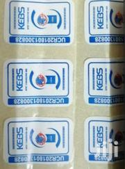 Kebs Stickers Printed | Manufacturing Services for sale in Nairobi, Nairobi Central