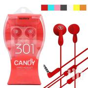 Remax  301 Candy Earphones | Accessories for Mobile Phones & Tablets for sale in Nairobi, Nairobi Central