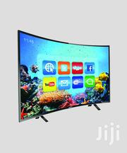 """Vision Plus VP8843C - 43"""" - FHD Smart Curved, Android LED TV - Black 