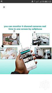 CCTV Bulb Camera With Memory Card   Cameras, Video Cameras & Accessories for sale in Nairobi, Nairobi Central