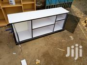 TV Stand With Tinted Glass And Shelved Side | Furniture for sale in Nairobi, Ngando