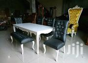 Leather And Fabric Tufted Dining Tables 4-6 Seaters | Furniture for sale in Nairobi, Eastleigh North