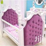 Fabric Tufted Baby Cots With Antique Finished | Furniture for sale in Nairobi, Eastleigh North