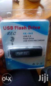 USB Voice Recorder Flash Disk 8GB | Audio & Music Equipment for sale in Nairobi, Mihango