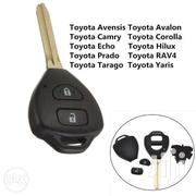 2 Button Remote Key Fob Shell Case Replacement For Toyota Rav4 Corolla | Vehicle Parts & Accessories for sale in Nairobi, Nairobi Central