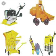 Construction Equipment. Cement Mixers, Spades, Vibrators For Hire.   Manufacturing Materials & Tools for sale in Nairobi, Kayole Central