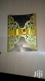 Gold Lesar Cut Wedding Invitation | Wedding Venues & Services for sale in Nairobi, Nairobi Central