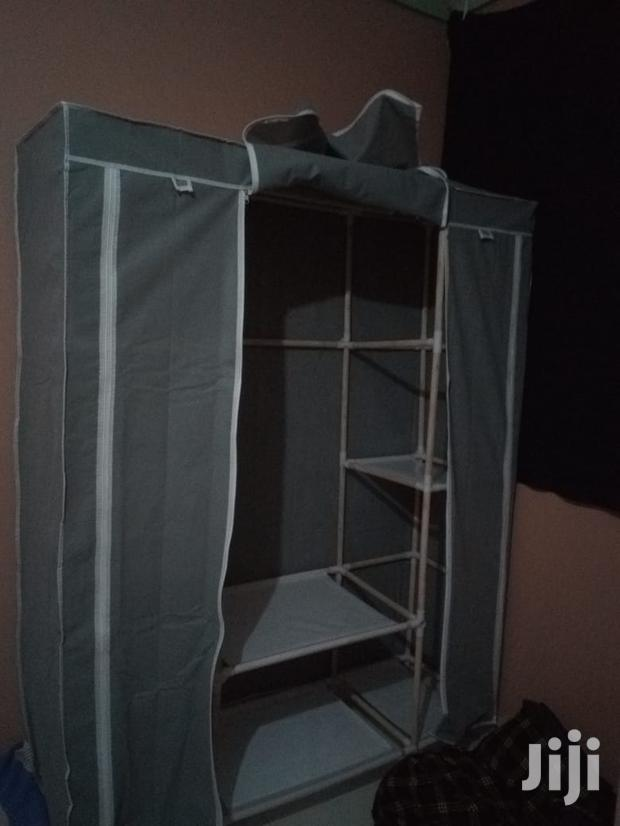 Archive: 3 Columns Wooden Feames Portable Wardrobes