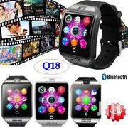 Q18 Smart Watches High Value With Memory Slot And Sim Card Slot | Smart Watches & Trackers for sale in Nairobi, Nairobi Central
