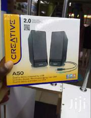 CREATIVE SBS-A50 Subwoofer 2.0 Desktop Speakers – Black | Audio & Music Equipment for sale in Nairobi, Nairobi Central