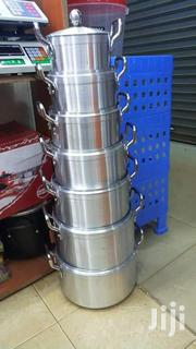 7 Pcs Aluminum Sufurias With Lids | Kitchen & Dining for sale in Nairobi, Nairobi Central