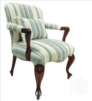 Mahogany And Fabric Armchair | Furniture for sale in Nairobi, Nairobi Central