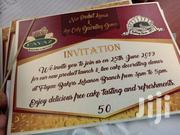 Invitation Cards | Computer & IT Services for sale in Mombasa, Mji Wa Kale/Makadara