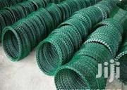 Galvanized Razor Green Coiled Barbed Wire 450mm | Building Materials for sale in Nairobi, Nairobi Central