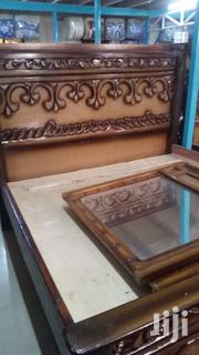 Spray Painted Wooden Beds | Furniture for sale in Nairobi, Pumwani