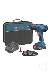 """Bosch 18V Compact 1/2"""" Drill With 1.5 Ah Slim Batteries GSB 180-LI 