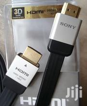 Sony 1.5m 1.4 Ver. Flat High Speed HDMI Cable- Black | Cameras, Video Cameras & Accessories for sale in Nairobi, Nairobi Central