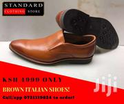 Brown Italian Leather Shoes | Watches for sale in Nairobi, Nairobi Central