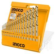 19pcs Metal Wood Concrete Drill Twist Drill Bits Set | Electrical Tools for sale in Nairobi, Nairobi Central