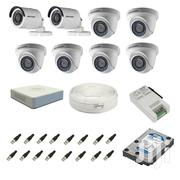 Hikvision 2MP HD 2 Bullet 6 Dome CCTV Camera Complete System Kit | Cameras, Video Cameras & Accessories for sale in Nairobi, Nairobi Central