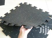 Black Speckled Jigsaw Rubber Tile - 500mm X 500m | Building Materials for sale in Nairobi, Viwandani (Makadara)