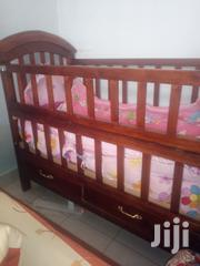 Baby Cot With Matress And Bumpers In Good Condition For Sale   Children's Furniture for sale in Nairobi, Kasarani