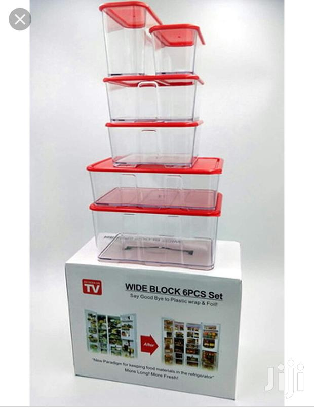 Storage Containers 6pcs