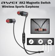 Awei AK2 Bluetooth Magnetic Wireless Sports Earphones Headsets   Accessories for Mobile Phones & Tablets for sale in Nairobi, Nairobi Central