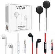 Vidvie Earphone Headset Heavy Bass Stereo Touch Kit In-ear Music 3.5mm | Accessories for Mobile Phones & Tablets for sale in Nairobi, Nairobi Central