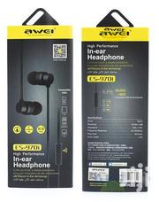 AWEI Es-970i Earphones | Accessories for Mobile Phones & Tablets for sale in Nairobi, Nairobi Central