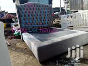 5*6 Ft Buttoned Adult Bed | Furniture for sale in Nairobi, Kiamaiko