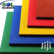 Coloured Rubber Tile - 500mm X 500mm X 25mm | Building Materials for sale in Nairobi, Viwandani (Makadara)