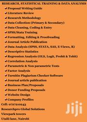 Research, Data Analysis And Spss Training | Other Services for sale in Nairobi, Nairobi Central